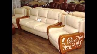видео Кожаные диваны и кресла в Москве
