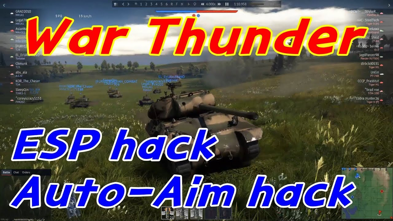 war thunder tank hack