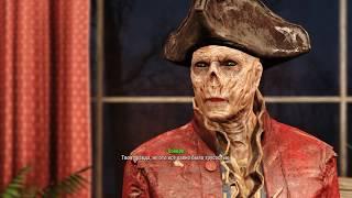 Fallout 4 Джон Хэнкок, романтические отношения John Hancock Romance SPOILERS