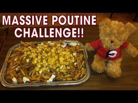 MASSIVE POUTINE CHALLENGE IN NEW HAMPSHIRE!!