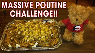 MASSIVE POUTINE CHALLENGE IN NEW HAMPSHIRE!!