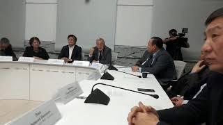 """Пресс-конференция """"Образ Тыгына в науке, науке, литературе, театре и кино""""!"""