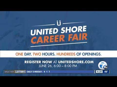 United Shore Holding Career Fair On June 26