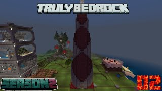 Truly Bedrock Season 2 Episode 2: Starter Base and Enchanting