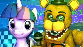 Five Nights at Freddy's & My Little Pony | Twilight Sparkle (FNAF MLP)(Music 4K SFM)