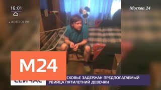 Смотреть видео В Серпухове задержали предполагаемого убийцу пятилетней девочки - Москва 24 онлайн