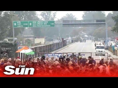 Indian pilot released LIVE | Pakistan border during Kashmir crisis
