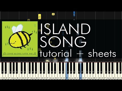 Adventure Time - Island Song (Come Along with Me) - Piano Tutorial + Sheets