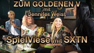 Zum Goldenen V - Jennifer Weist, Visa Vie & SXTN Live + Interview -SpielViese