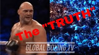 The TRUTH Behind The Tyson Fury Crowd Fight And Why It Happened