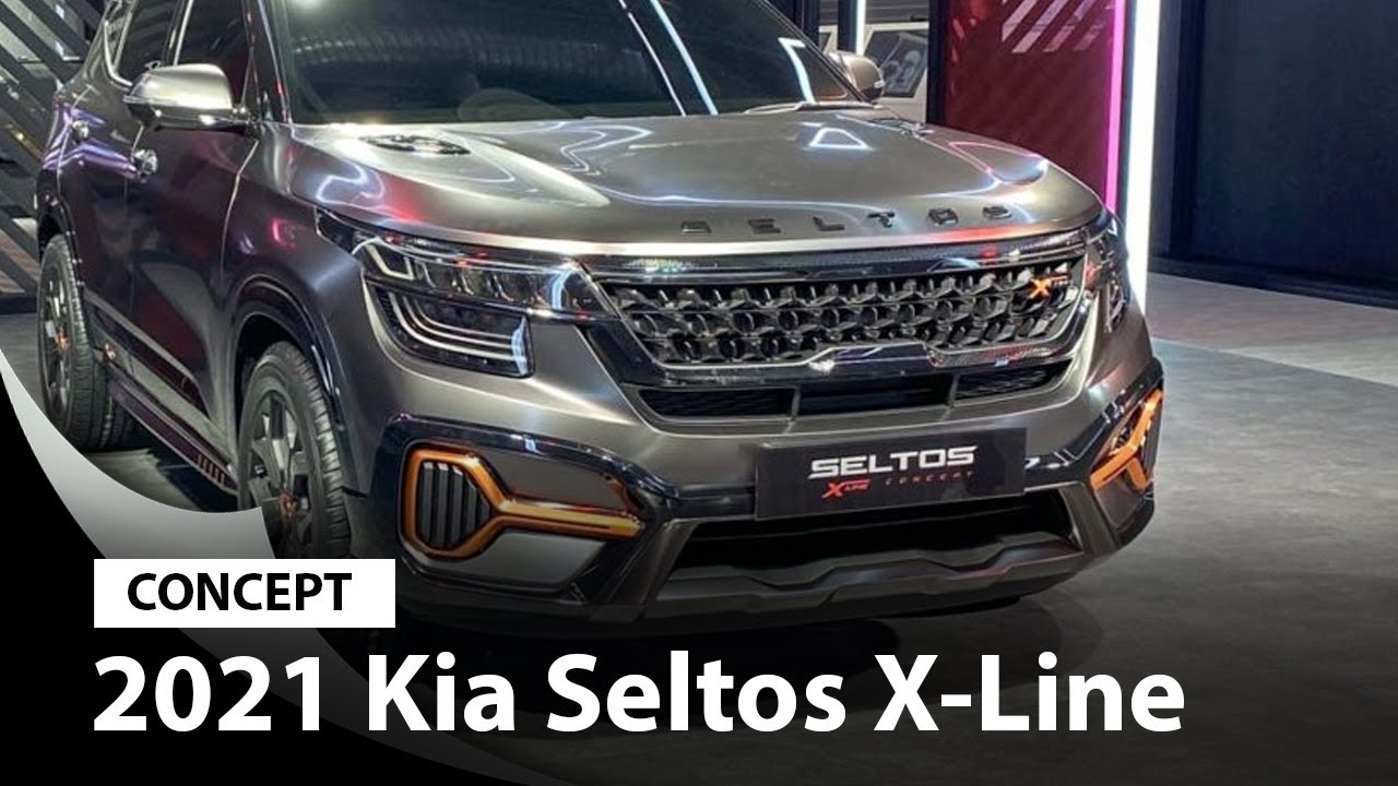 Kia Seltos X Line Concept Youtube