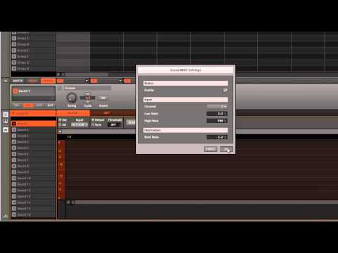 How To Setup Maschine In Ableton To Sample