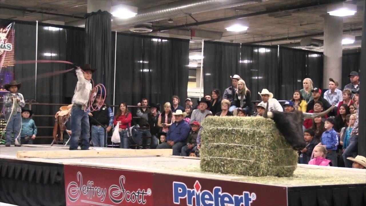 2012 stetson country christmas and world championship dummy roping for kids finalists - Country Christmas Las Vegas