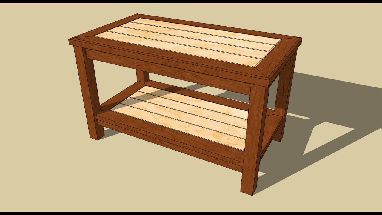 plain coffee table woodworking projects