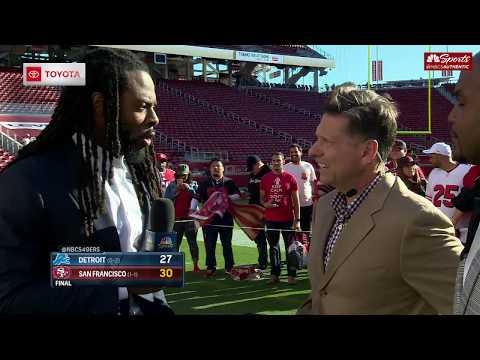 Richard Sherman Joins 49ers Postgame Live