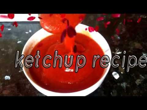 Ketchup Recipe L Ketchup Fait Maison L طريقة تحضير الكتشاب بقشرة الطماطم Youtube