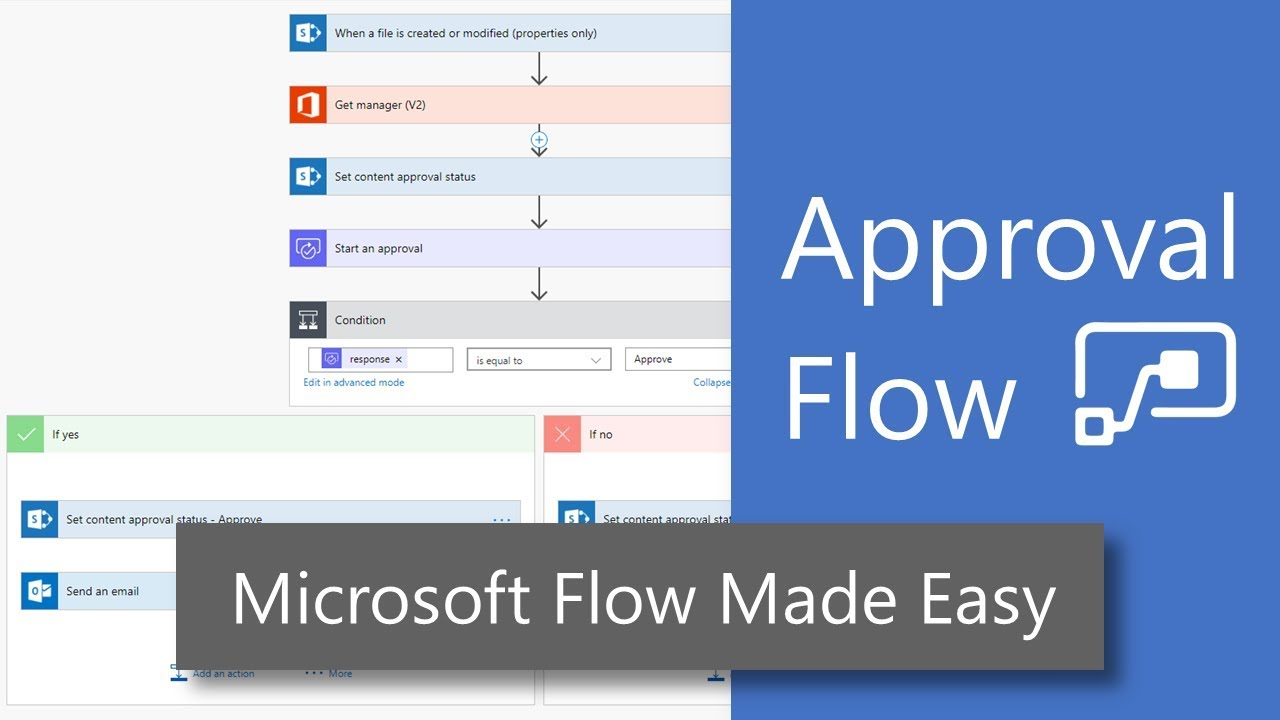 Create an Approval Flow with Microsoft Flow
