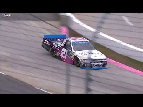 NASCAR - Watch: Johnny Sauter wins at Martinsville in NASCAR Trucks Playoffs