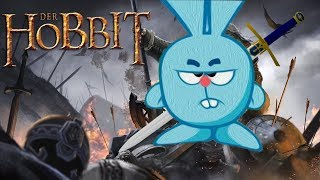 Хоббит : Битва пяти воинств - Трейлер пародия