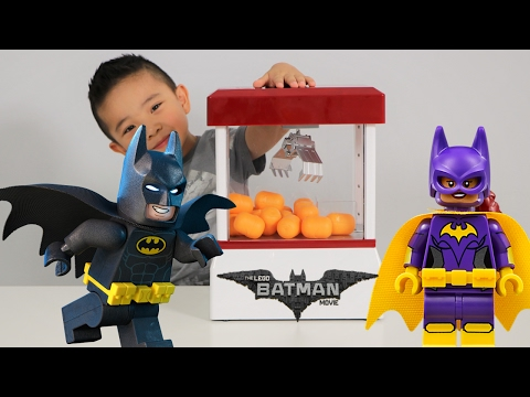 Thumbnail: The Lego Batman Movie Claw Machine Surprise Eggs Blind Bag Challenge Fun With Ckn Toys