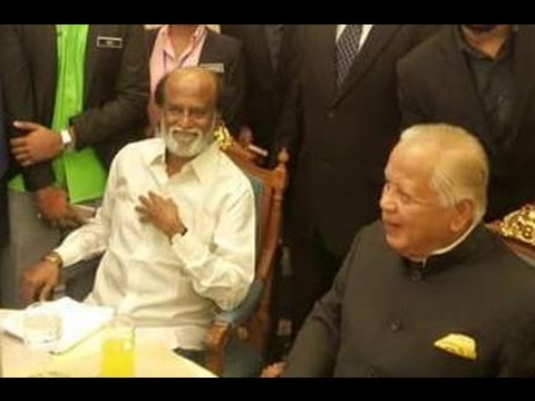 Malacca Governor hosts lunch for Rajinikanth  | Kabali Malaysia Shooting