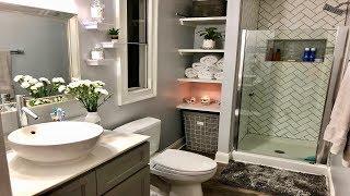 Ideas para remodelar tu baño | antes y después | Como decorar tu baño bonito y económico thumbnail