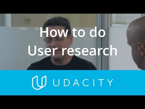 Tomer Sharon: How to do User Research | Validation | Product Design | Udacity