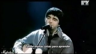 Oasis - Stand By Me - Legendado • [BR | Acoustic w/ Noel Live TV]