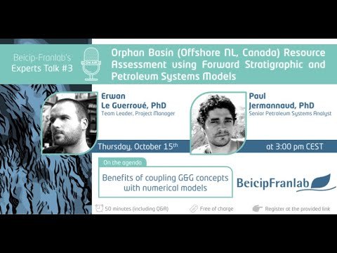 Orphan Basin (Offshore NL, Canada) Resource Assessment using Forward Stratigraphic and Basin Models