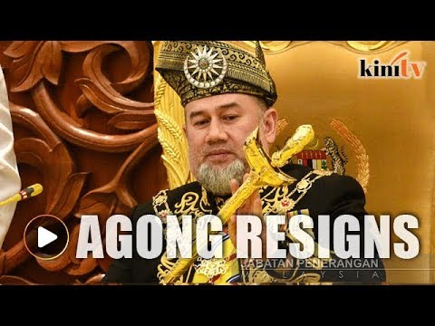Sultan Muhammad V resigns as Agong