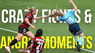 Fights \u0026 Angry Moments In Women's Football