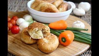 Пирожки по Рецепту Бабушки на Майонезе. Домашний ресторан®