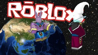 BEERUS VS WHIS!! THE EPIC BATTLE!! MENTOR VS STUDENT! ROBLOX!
