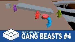 Gang Beasts #4 - Sandbox - 3 Player Co-Op Gameplay