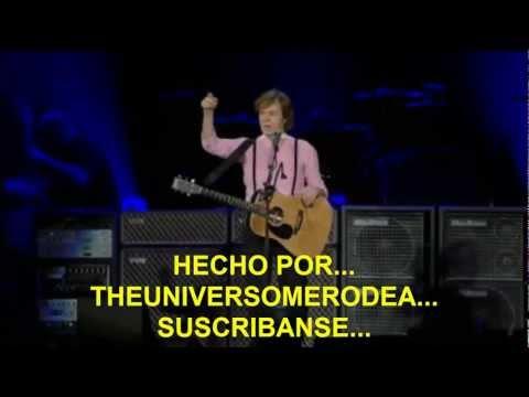 Paul McCartney- Hope Of Deliverance (Subtitulada Español) (Zócalo México: 2012)