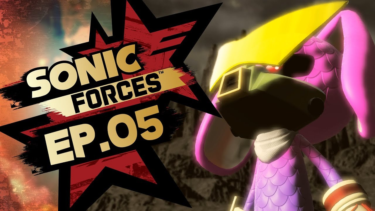 Sonic Forces PS4 Pro 4K Gameplay Walkthrough Playthrough Let's Play (Full Game) - Part 5 Hard Mode