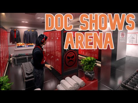 DrDisrespect Shows New Arena!!!
