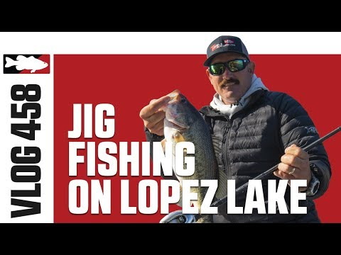 Wintertime Jig Fishing On Lake Lopez With Jared Lintner - Tackle Warehouse VLOG #458