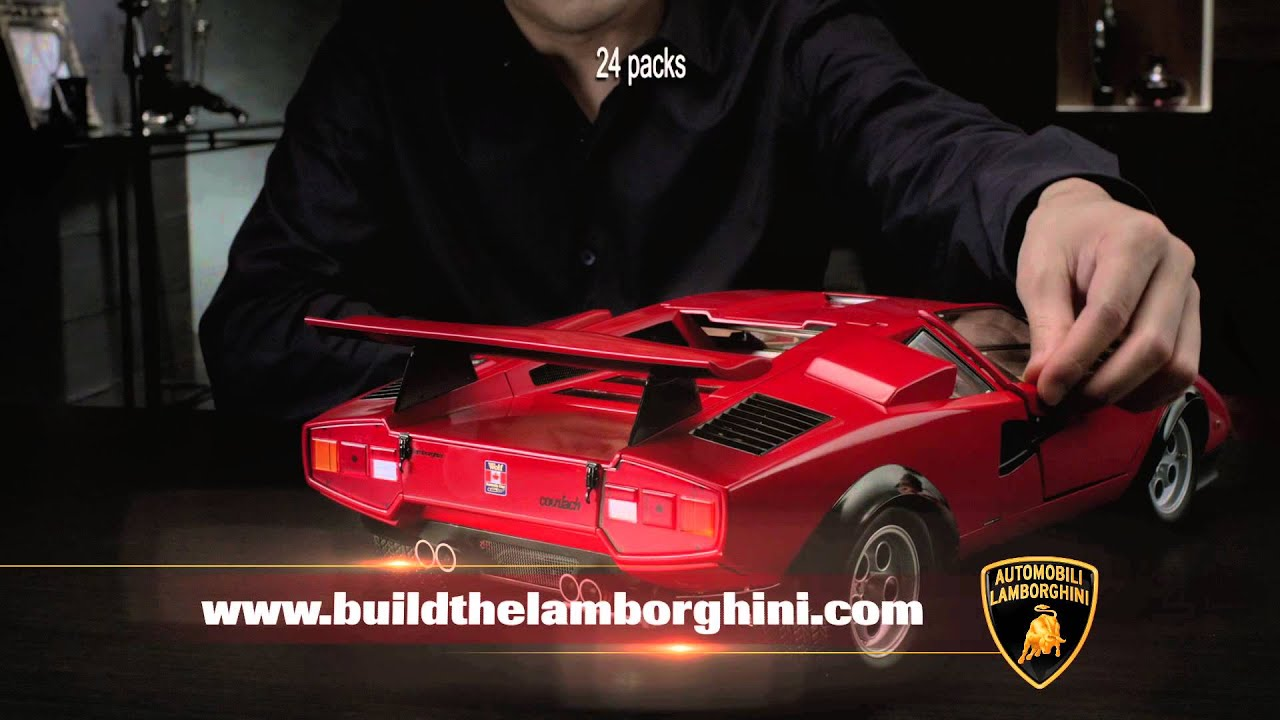 Build The Lamborghini Countach Lp 500s By Modelspace As Seen On Tv Youtube