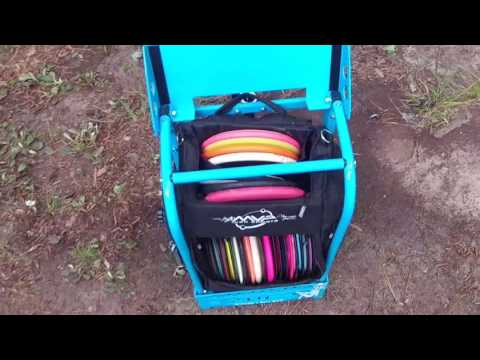 Zuca cart with MVP Voyager bag set up video