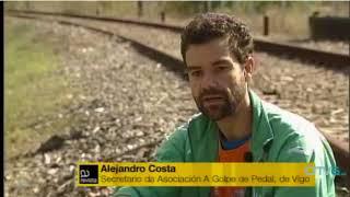 Asociacións cidadás e concellos reclaman como Vía Verde a vía de tren en desuso
