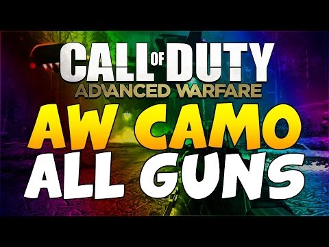 New Advanced Warfare Camo on ALL Guns - Call of Duty Ghosts DLC Camo