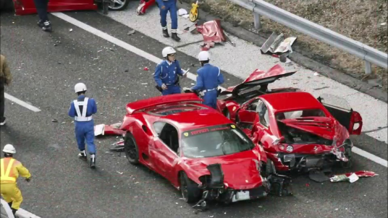 2019 Ferrari Crash Epic Supercar Fails Compilation Incidenti Ferrari Youtube