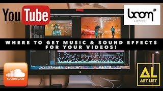 Where To Get MUSIC & SOUND EFFECTS For Your Videos!
