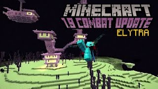 Minecraft - ELYTRA   1.9 Combat Update Challenge [11]