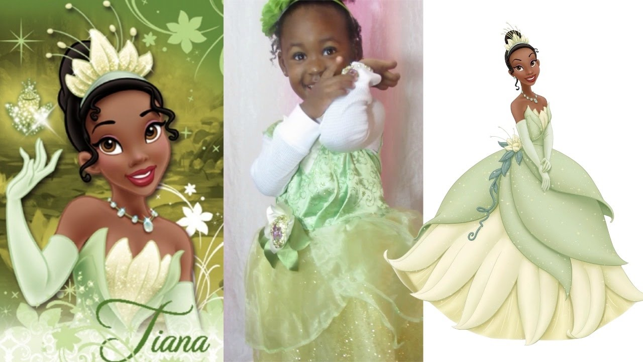 Princess Tiana Inspired Costume