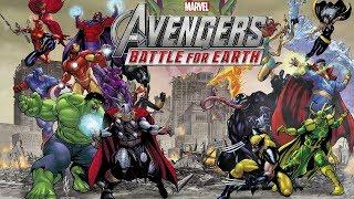 Marvel Avengers Battle For Earth Gameplay Walkthrough Movie