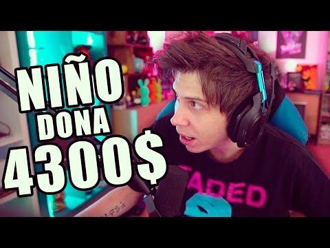 NIÑO DE 9 AÑOS ME DONA 4300$ EN DIRECTO
