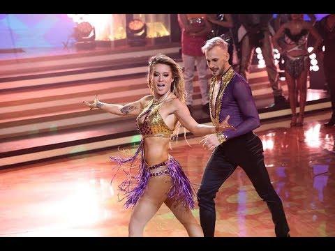 Leslie Shaw  Baila Salsa Quimbara De Celia Cruz  Bailando Con Las Estrellas