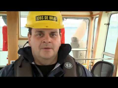 Job de Bras avec Patrick Groulx et Phil Laprise chez Océan Remorquage Montréal